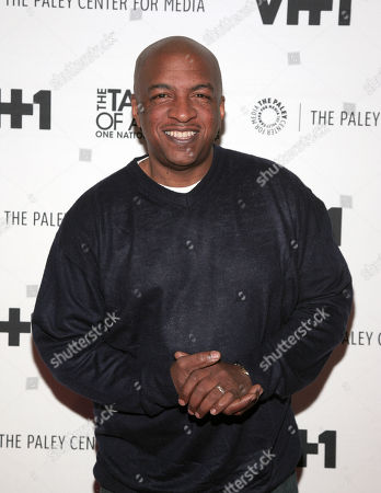 "Broadcaster Ralph McDaniels attends a screening of ""The Tanning of America: One Nation Under Hip Hop"" on in New York"
