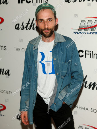 "Stock Image of Dov Tiefenbach attends a special screening of ""Asthma"", hosted by IFC Films with The Cinema Society, at The Roxy Hotel, in New York"