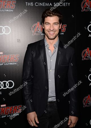 """Cory Bond attends a special screening of Marvel's """"Avengers: Age of Ultron"""" at the SVA Theatre on Tuesday, April, 28, 2015, in New York"""