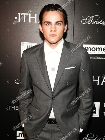 "Actor Alex Neustaedter attends a special screening of ""Ithaca"" at Landmark Sunshine Cinema, in New York"