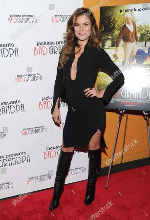 """Rosalind Lipsett attends a special screening of """"Jackass Presents: Bad Grandpa"""" at the Sunshine Landmark Theater on in New York"""