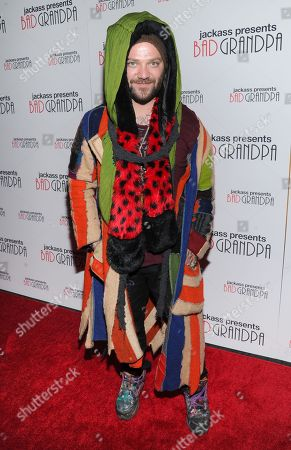 """Actor and daredevil Bam Margera attends a special screening of """"Jackass Presents: Bad Grandpa"""" at the Sunshine Landmark Theater on in New York"""