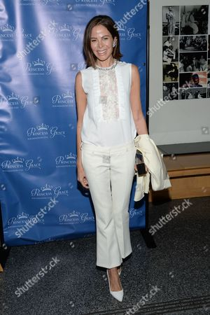 """Allison Sarofim attends a special screening of """"Rear Window"""", hosted by The Princess Grace Foundation, at The Academy Theater, in New York"""