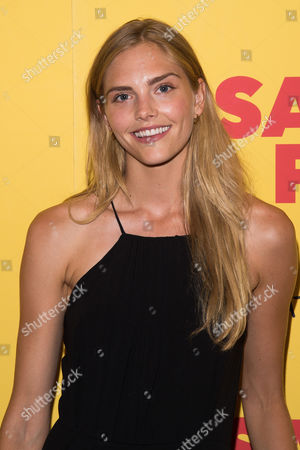 """Dani Seitz? attends a screening of the animated film """"Sausage Party"""" at the Sunshine Landmark, in New York"""