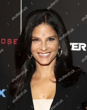 """Darlene Rodriguez attends a screening of """"The Equalizer"""" on in New York"""