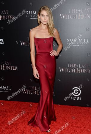 "Actress Allegra Carpenter attends a special screening of ""The Last Witch Hunter"" at the Loews Lincoln Square, in New York"