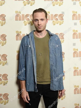 """David Call attends a special screening of """"The Nice Guys"""" at Metrograph, in New York"""