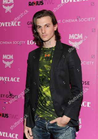"""Peter Vack attends a special screening of Radius TWC's """"Lovelace"""" hosted by The Cinema Society and MCM on in New York"""