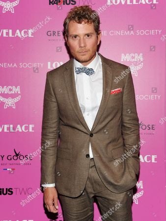 "Actor Brian Gattas attends a special screening of Radius TWC's ""Lovelace"" hosted by The Cinema Society and MCM on in New York"