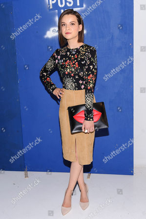 Ingrid Nilsen attends the Alice + Olivia fashion show at New York Fashion Week Fall/Winter 2016, in New York