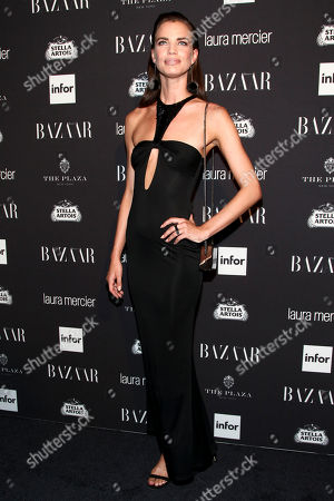 Fashion model Rianne ten Haken attends Harper's Bazaar Icons celebration during NYFW Spring/Summer 2017 at the Plaza Hotel, in New York