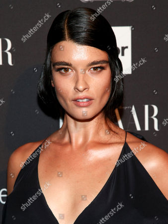 Fashion model Crystal Renn attends Harper's Bazaar Icons celebration during NYFW Spring/Summer 2017 at the Plaza Hotel, in New York