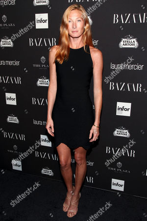 Fashion model Maggie Rizer attends Harper's Bazaar Icons celebration during NYFW Spring/Summer 2017 at the Plaza Hotel, in New York