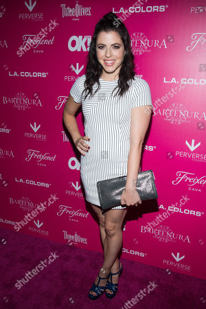 Stock Image of Clare Galterio attends OK! Magazine's So Sexy Party at Tao Downtown, in New York