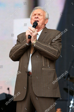 Stock Picture of Mel Tillis performs at the Oklahoma Twister Relief Concert at the Gaylord Family-Oklahoma Memorial Stadium on in Norman, Okla