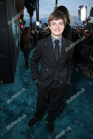 Stock Picture of Chandler Canterbury at Open Road Films Los Angeles Premiere of 'The Host' held at the ArcLight Hollywood, on Tuesday, March, 19, 2013 in Los Angeles