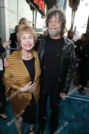 Stock Picture of Producers Paula Mae Schwartz and Steve Schwartz at Open Road Films Los Angeles Premiere of 'The Host' held at the ArcLight Hollywood, on Tuesday, March, 19, 2013 in Los Angeles