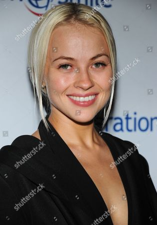 Elena Bugaeva arrives at Operation Smile's 2013 Smile Gala at The Beverly Wilshire Hotel on in Beverly Hills, Calif