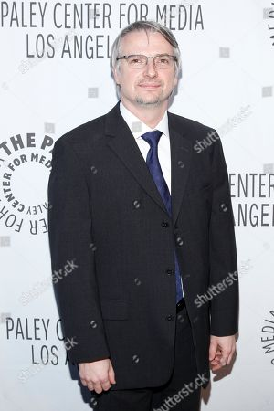 Glen Mazzara attends the Paley Center LA Benefit at the Rooftop of The Lot, in West Hollywood, Calif