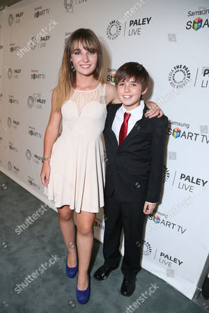 Stock Photo of Christina Robinson and Preston Bailey seen at PaleyFest Previews: Fall Farewell with Dexter, on Thursday, Sep, 12, 2013 in Beverly Hills, Calif