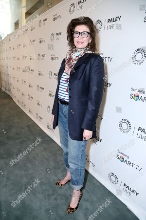 Executive Producer Sara Colleton seen at PaleyFest Previews: Fall Farewell with Dexter, on Thursday, Sep, 12, 2013 in Beverly Hills, Calif