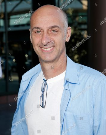 """David Marciano arrives at a panel discussion with the cast of """"Orange Is The New Black"""" at the Directors Guild of America Theater, in Los Angeles"""