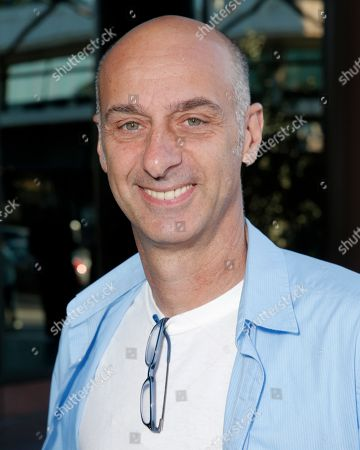 """Stock Photo of David Marciano arrives at a panel discussion with the cast of """"Orange Is The New Black"""" at the Directors Guild of America Theater, in Los Angeles"""