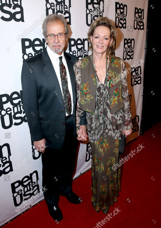 Richard Gilliland and Jean Smart attend the PEN Center USA's 25th Annual Literacy Awards Festival at the Beverly Wilshire Hotel, in Beverly Hills, Calif