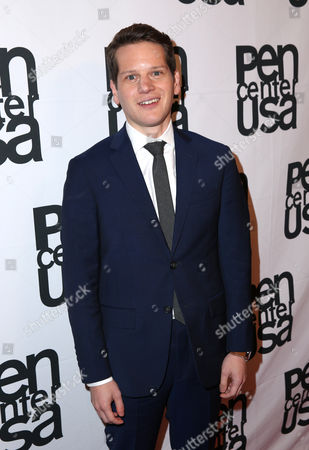 Stock Image of Graham Moore attends the PEN Center USA's 25th Annual Literacy Awards Festival at the Beverly Wilshire Hotel, in Beverly Hills, Calif