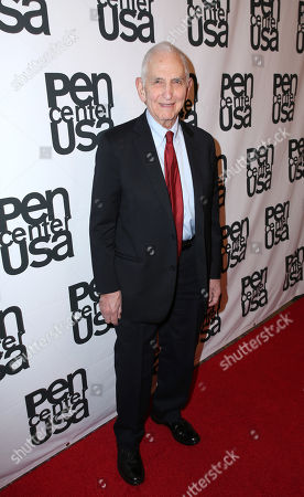 Daniel Ellsberg attends the PEN Center USA's 25th Annual Literacy Awards Festival at the Beverly Wilshire Hotel, in Beverly Hills, Calif