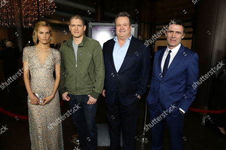 """Isabel Lucas, Wentworth Miller, Eric Stonestreet and Director Erik Van Looy seen at the Premiere of """"The Loft"""" Featuring Ketel One Vodka, in Los Angeles"""