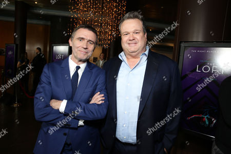 """Director Erik Van Looy and Eric Stonestreet seen at the Premiere of """"The Loft"""" Featuring Ketel One Vodka, in Los Angeles"""