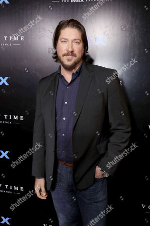 "Executive Producer Tanner Beard seen at Los Angeles Premiere of ""Voyage of Time: The IMAX Experience"" at California Science Center IMAX Theatre, in Los Angeles"