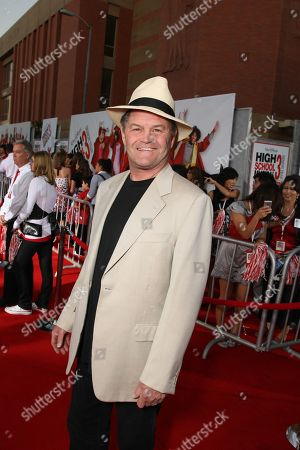"""Stock Image of OCTOBER 16: Mickey Dolenz at the Premiere of Walt Disney Pictures """"High School Musical 3: Senior Year"""" on at the Galen Center in Los Angeles, CA"""