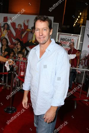 """OCTOBER 16: DB Sweeney at the Premiere of Walt Disney Pictures """"High School Musical 3: Senior Year"""" on at the Galen Center in Los Angeles, CA"""