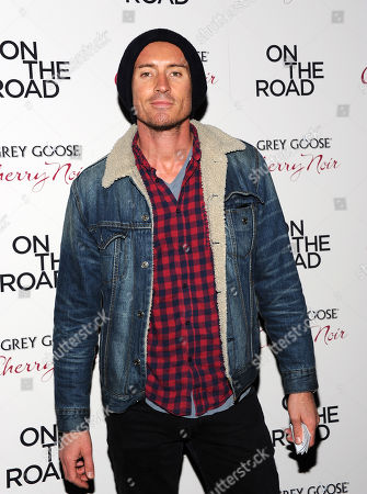 """Stock Image of Casper Zafer attends the premiere of """"On The Road"""" at the SVA Theater on in New York"""