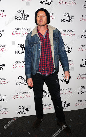 """Casper Zafer attends the premiere of """"On The Road"""" at the SVA Theater on in New York"""