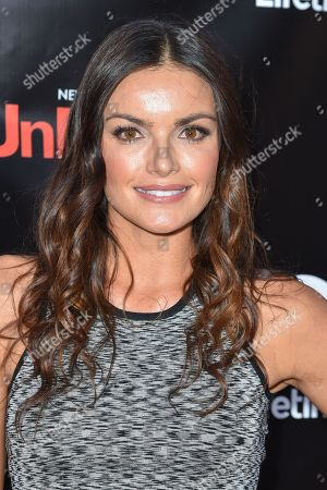 Stock Picture of Courtney Robertson arrives at Lifetime's scripted series premiere of UnREAL at SIXTY Beverly Hills, in Beverly Hills, Calif