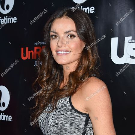 Courtney Robertson arrives at Lifetime's scripted series premiere of UnREAL at SIXTY Beverly Hills, in Beverly Hills, Calif