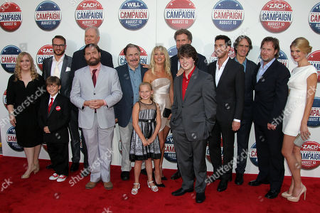 Editorial picture of Premiere The Campaign LA, Los Angeles, USA - 2 Aug 2012