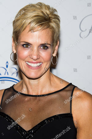 Dara Torres attends the Princess Grace Awards Gala on in New York