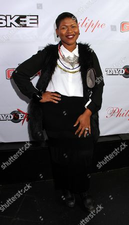 Stacy Barthe attends the Private Black Friday Birthday Dinner for The Game at Philippe on in Beverly Hills, California