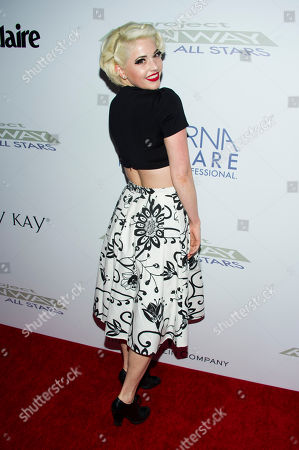 """Kenley Collins attends the """"Project Runway: All Stars"""" third season launch on in New York"""