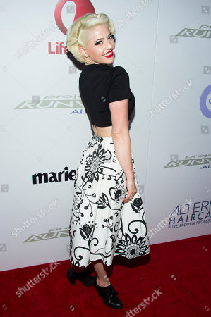 """Stock Photo of Kenley Collins attends the """"Project Runway: All Stars"""" third season launch on in New York"""