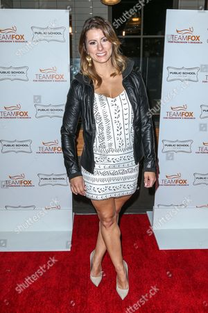 Jennifer Widerstrom attends the Raising The Bar To End Parkinson's event at Public School 818 on in Los Angeles