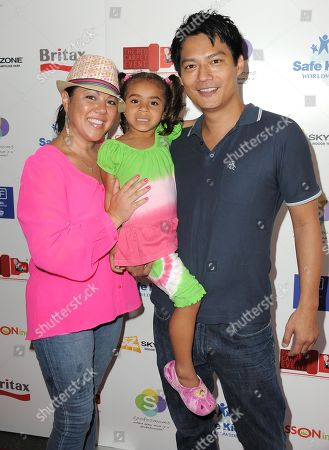 Stock Image of Archie Kao attends the 2nd Annual Red CARpet event at the SLS Hotel on in Beverly Hills, Calif