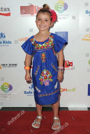 Estela Ines Monteverde attends the 2nd Annual Red CARpet event at the SLS Hotel on in Beverly Hills, Calif