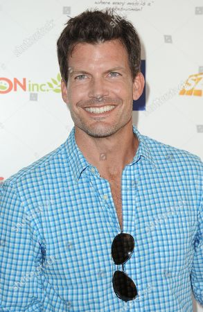 Stock Picture of Mark Deklin attends the 2nd Annual Red CARpet event at the SLS Hotel on in Beverly Hills, Calif