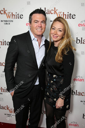 "Tucker Tooley, President of Relativity Media and Tessa Tooley seen at Relativity Studios Los Angeles Premiere of ""Black or White"" held at Regal Cinemas, in Los Angeles"