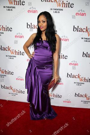 "Stock Image of Erica Hubbard seen at Relativity Studios Los Angeles Premiere of ""Black or White"" held at Regal Cinemas, in Los Angeles"